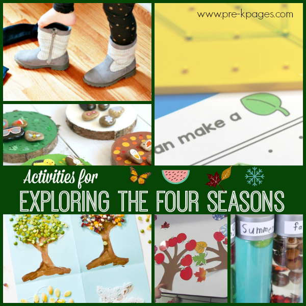 seasons activities for preschool