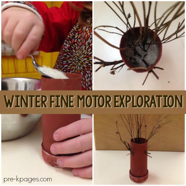 Winter Tree Craft Activity