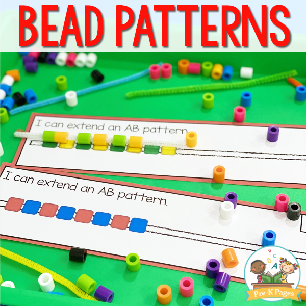 Bead Patterning Mats for Preschool