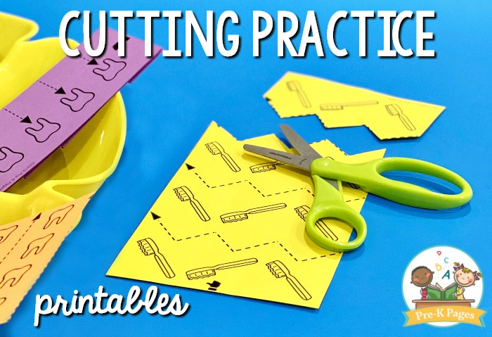 Dentist Cutting Practice Printables