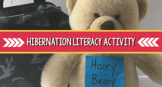 Hibernation Book and Literacy Activity