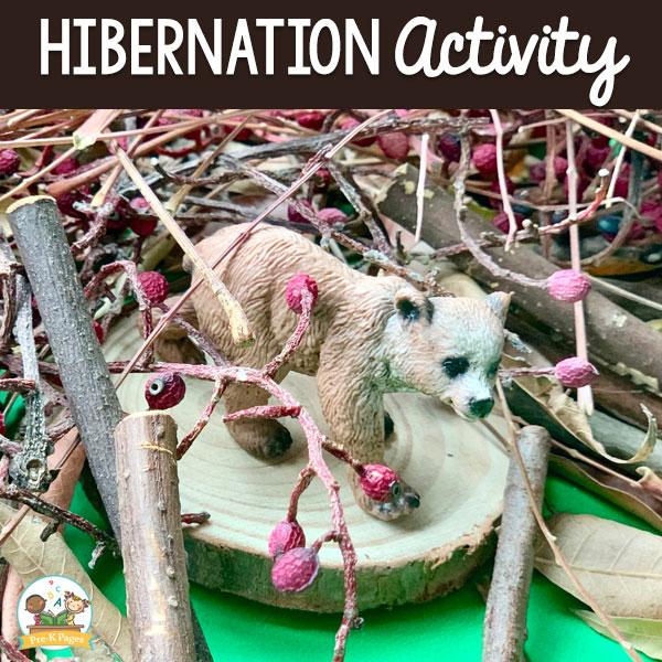 Hibernation Activity For Preschool