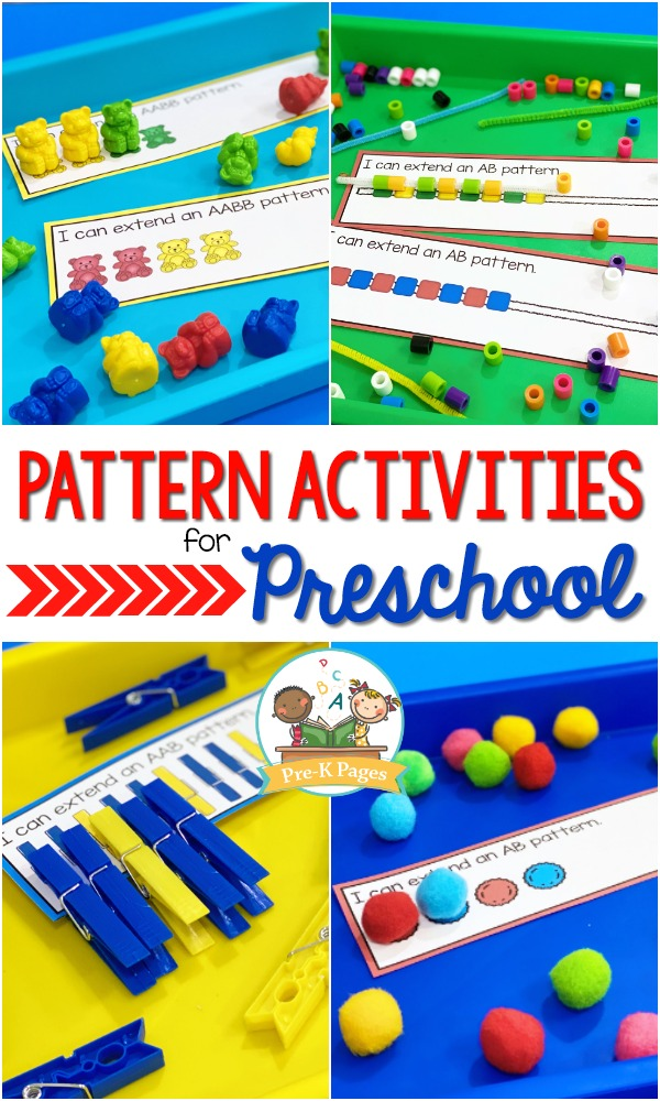 How to Teach Pattern Skills in Preschool