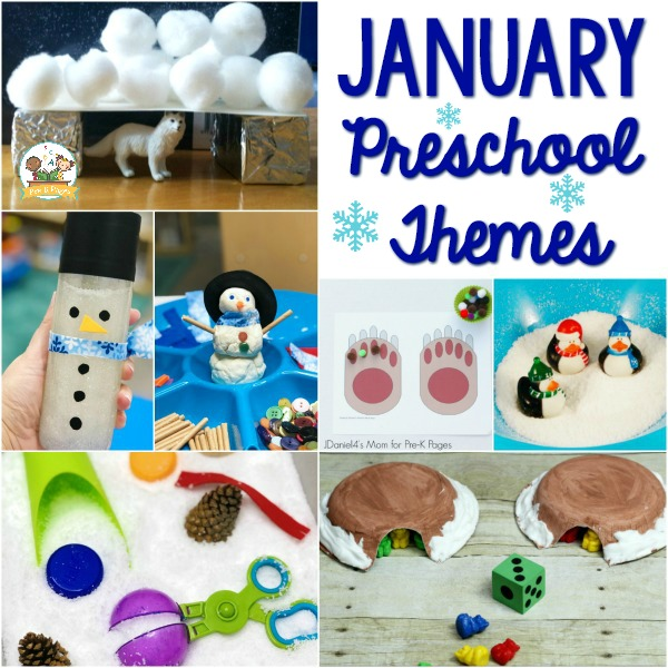 Preschool Curriculum Themes Winter