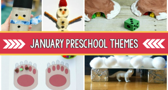 January Preschool Themes pre-k