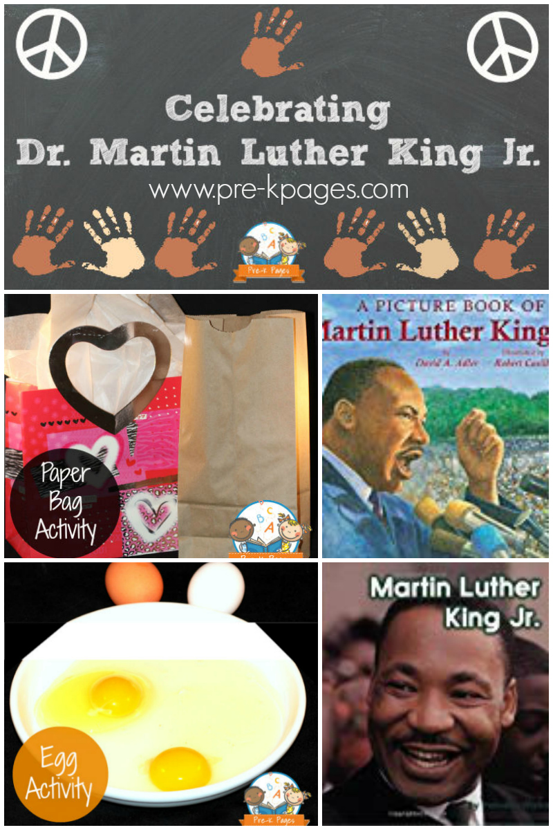 Martin Luther king Day for preschool