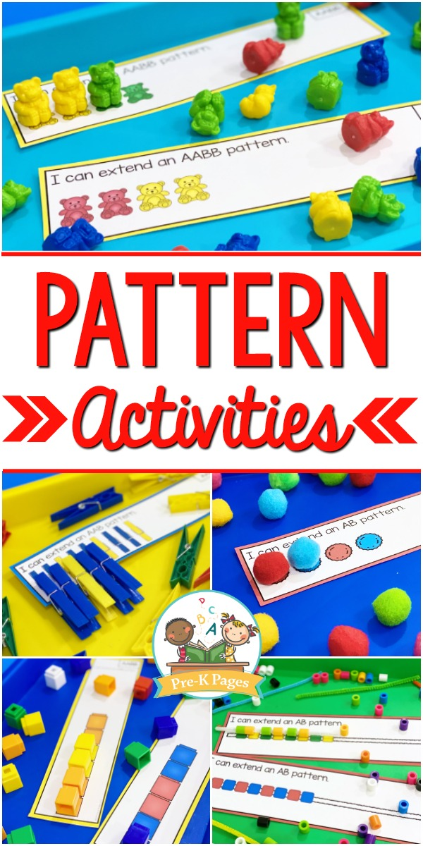Pattern Activity Mats for Preschool