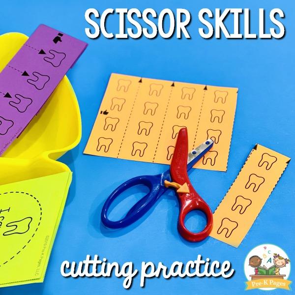 Scissor Skills Cutting Practice Printable