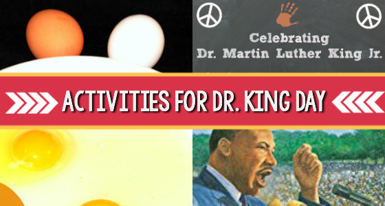 Activities For Celebrating Martin Luther King Jr Day