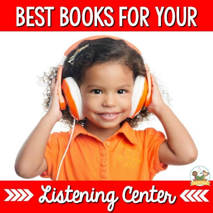 Best Books for a Preschool Listening Center