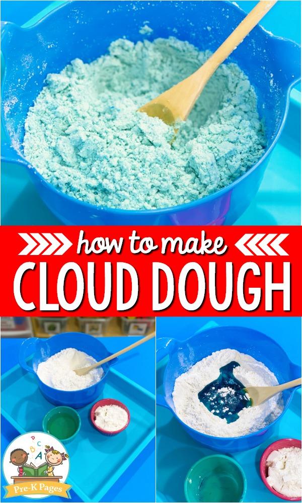 Best Cloud Dough Recipe
