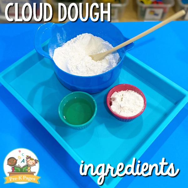Cloud Dough Ingredients