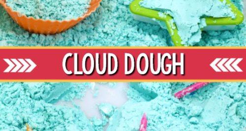 Cloud Dough Recipe for Preschool Sensory
