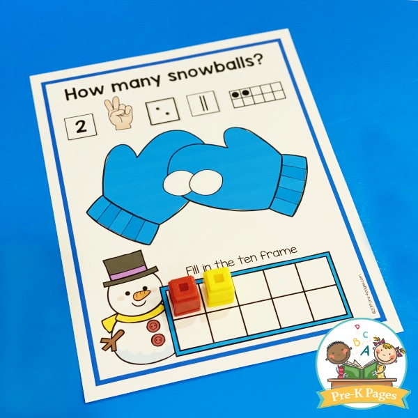 Counting Snowballs Activity