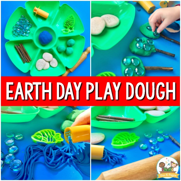 Earth Day Play Dough Exploration