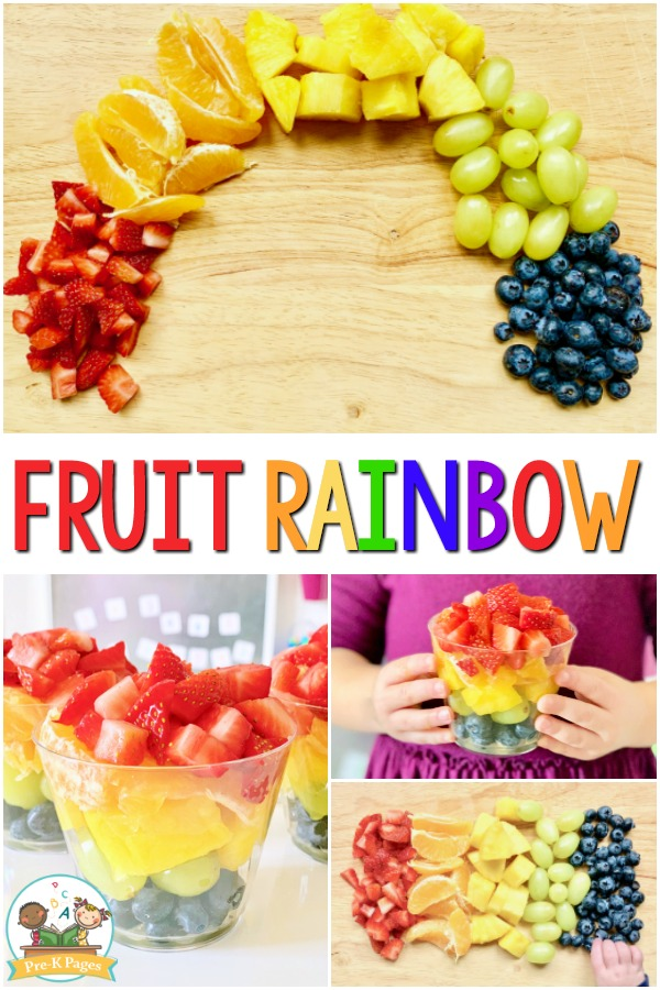 Fruit Rainbow Snack