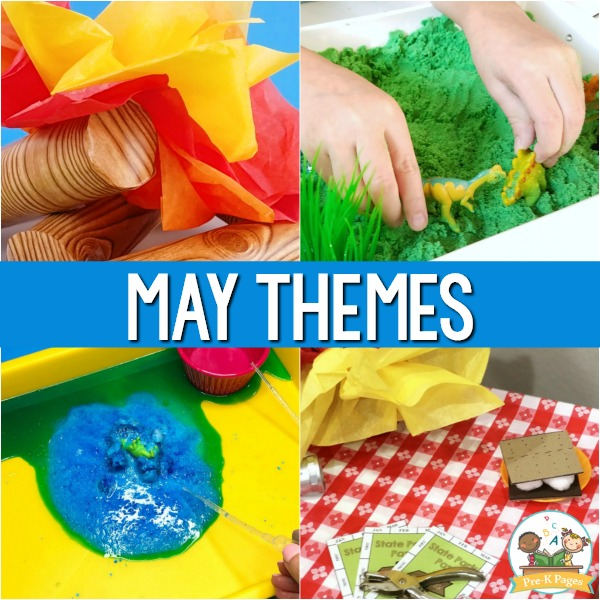 May Themes for Preschool