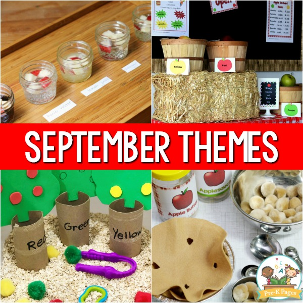 September Themes for Preschool