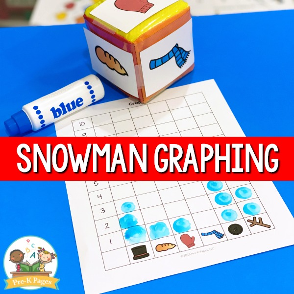 Snowman Graphing Activity