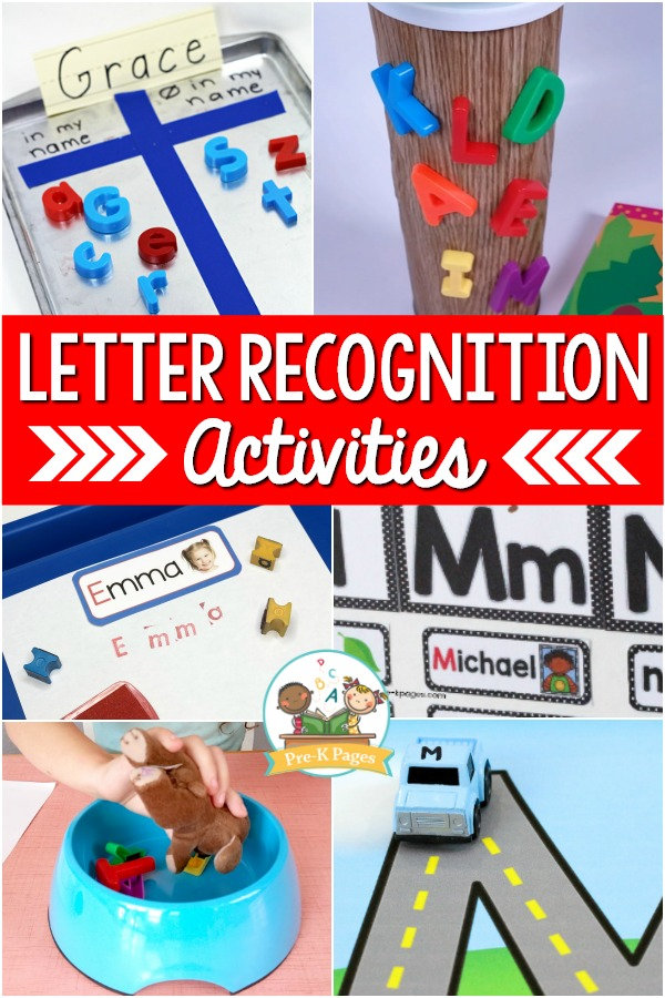 Teaching Letter Recognition in Preschool