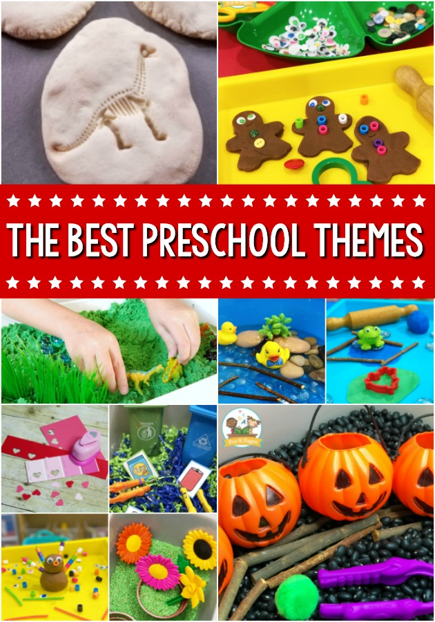 The Best Preschool Themes