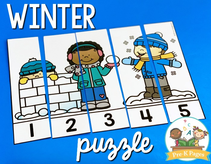 Winter Number Puzzle