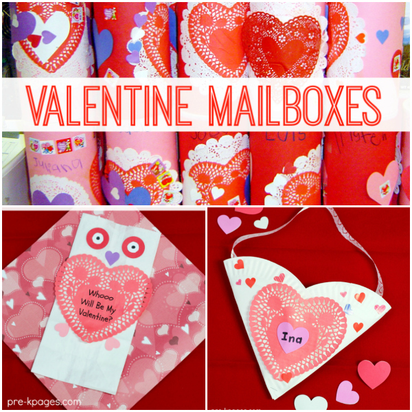 valentine card holders for preschool
