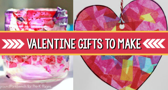 Valentine Gifts Preschoolers Can Make