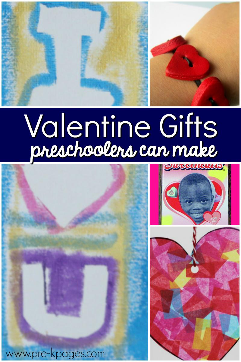 valentine gifts preschoolers make pre-k