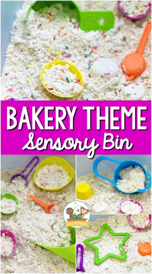 Bakery Cloud Dough Sensory Bin
