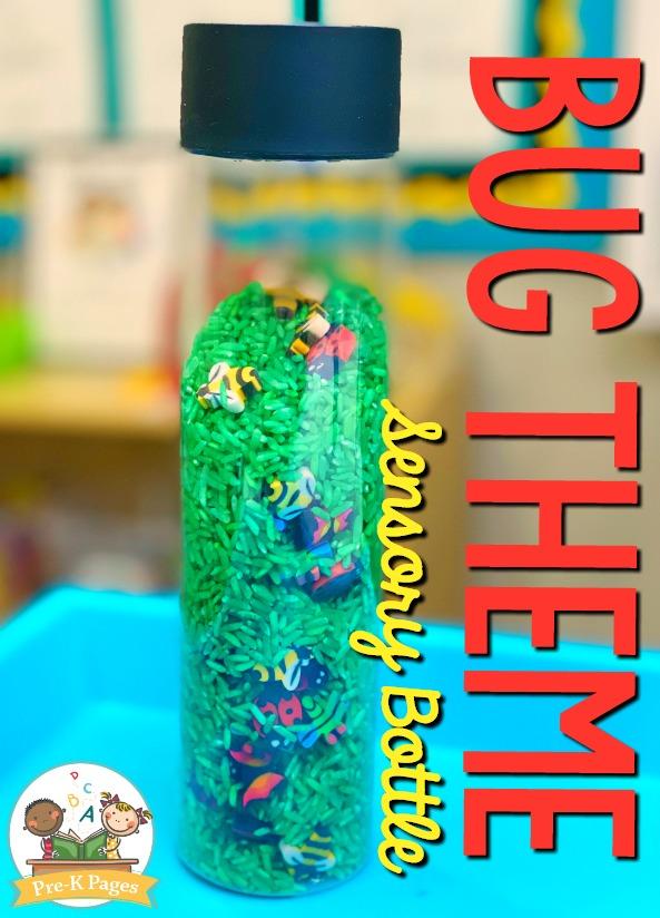 Bug Theme Sensory Bottle