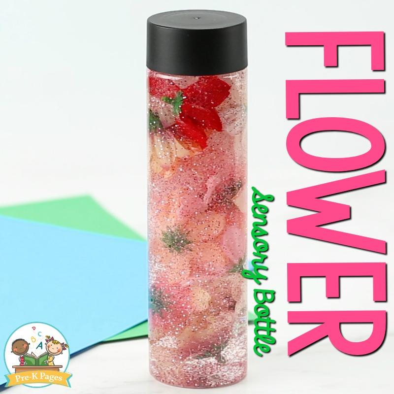 Flower Sensory Bottle