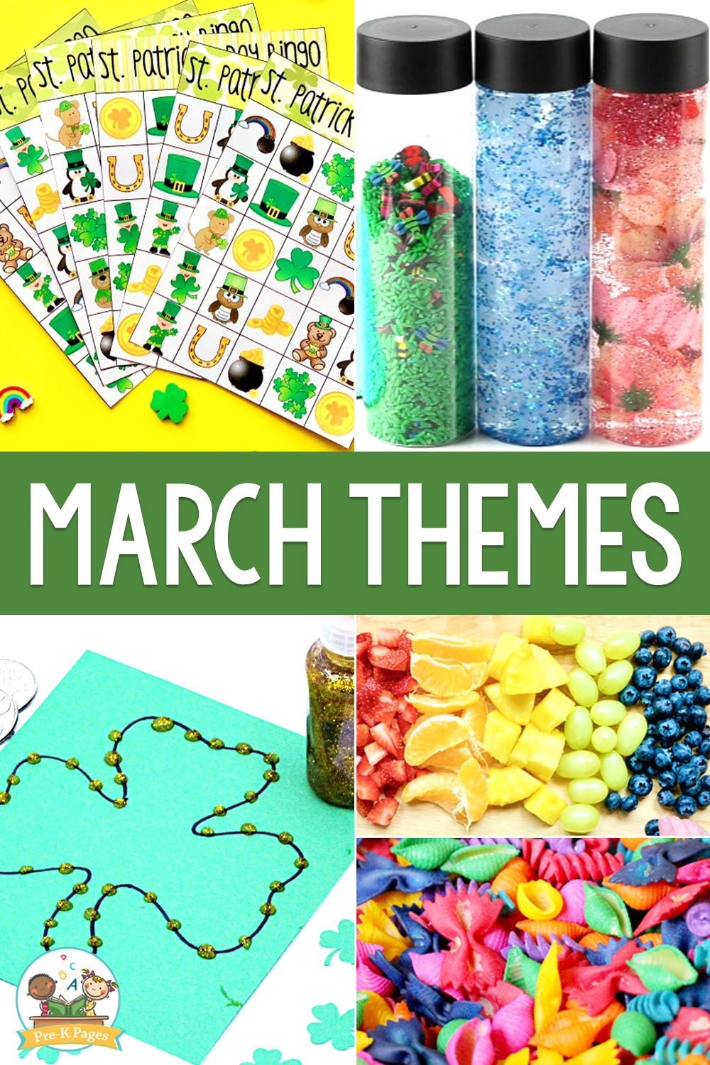 March Preschool Themes   Pre K Pages