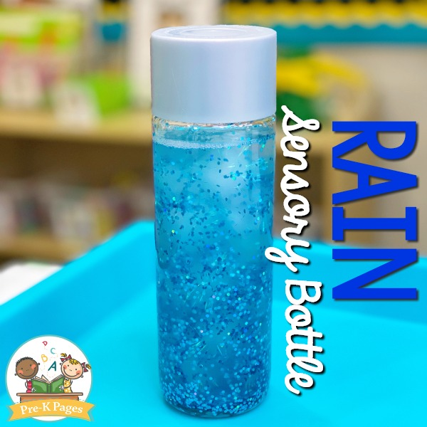 Spring Sensory Bottles For Preschool Pre K Pages