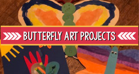 butterfly art activities preschool