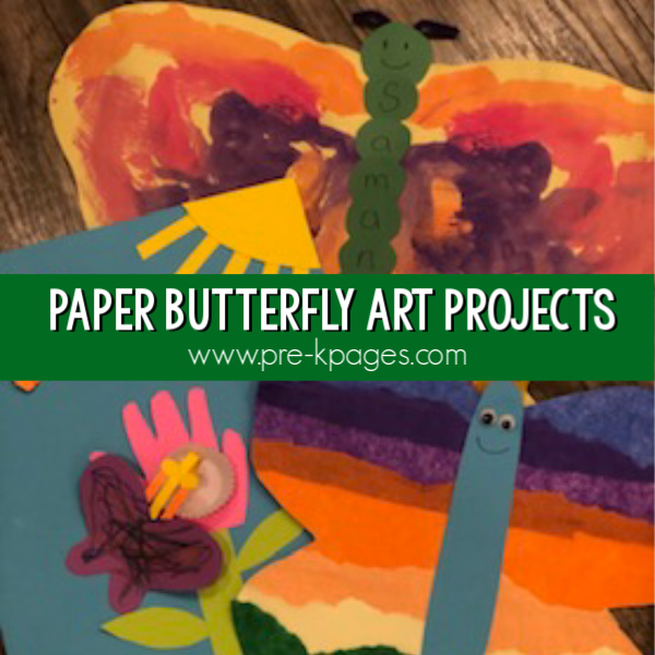 butterfly art proejcts for preschoolers