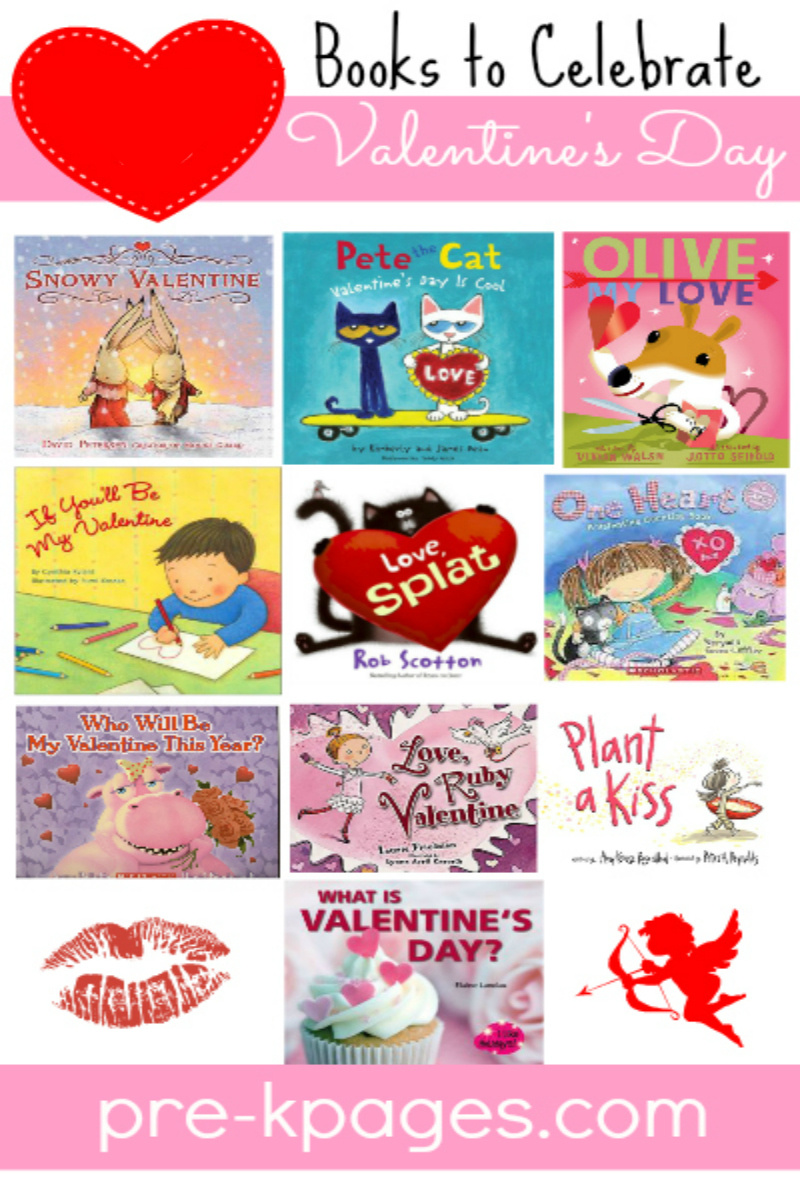 valentines day books preschool