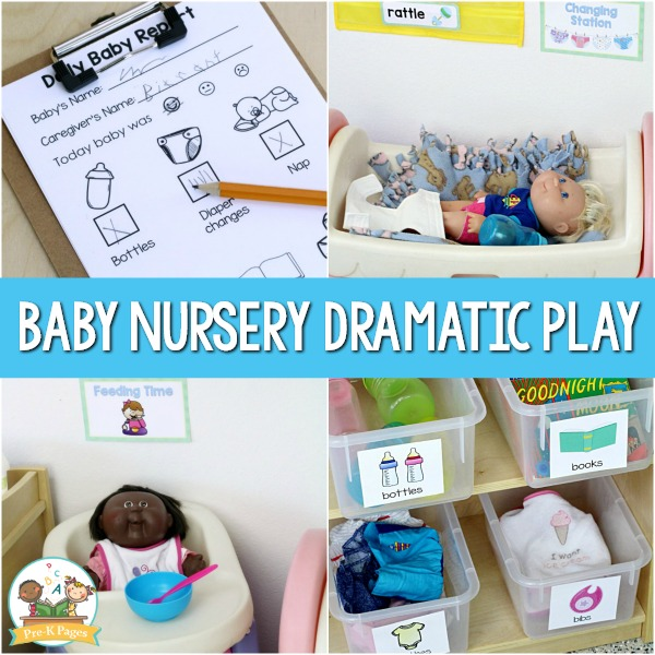 Baby Nursery Childcare Dramatic Play Center