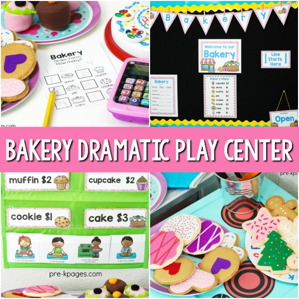 Bakery Dramatic Play Theme