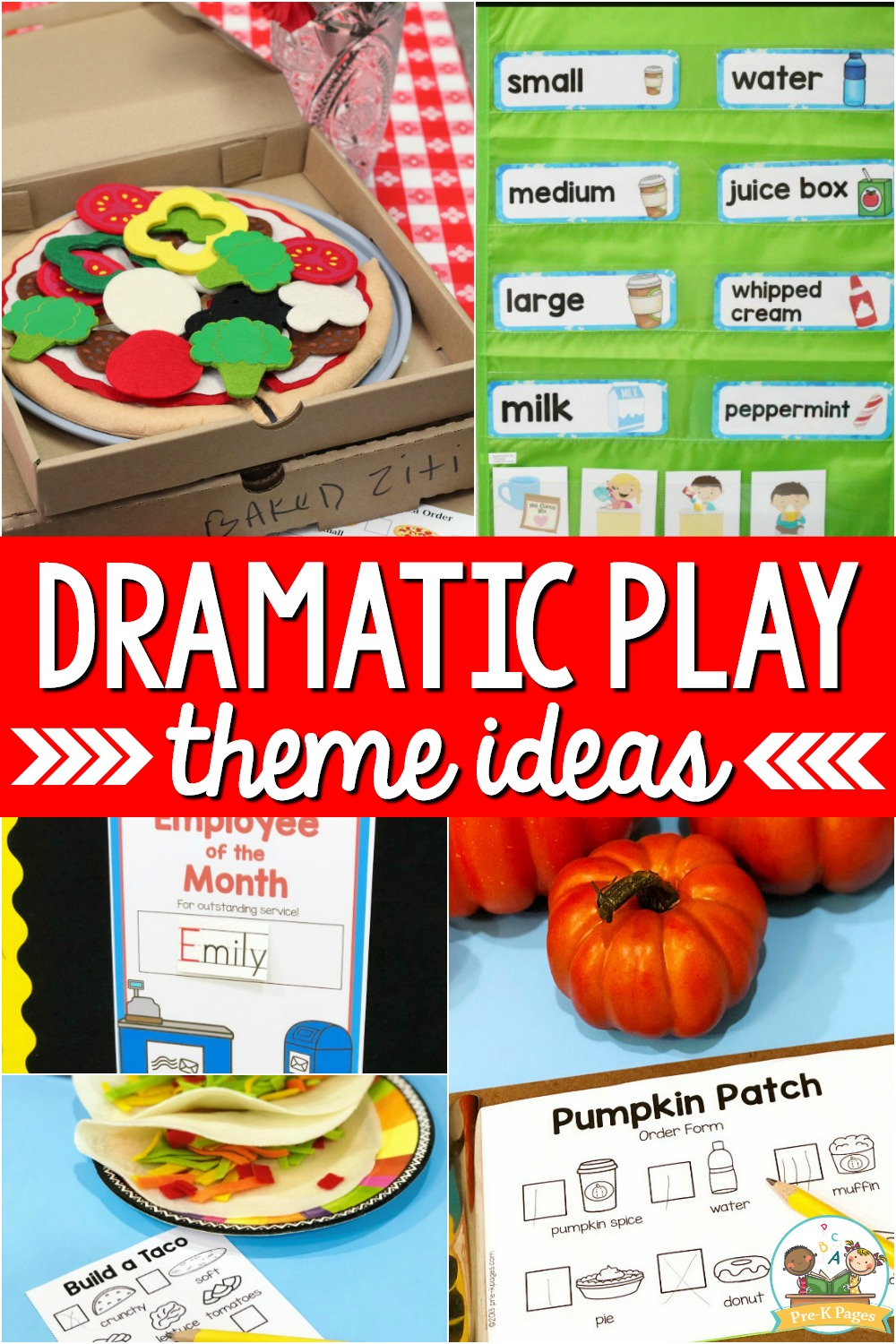 Dramatic Play Theme Ideas