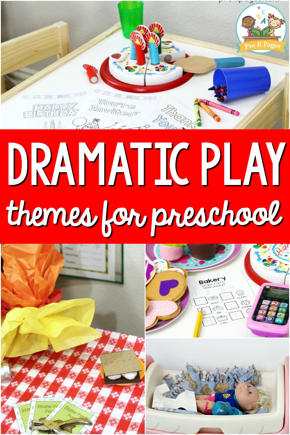 Dramatic Play Themes for Preschool