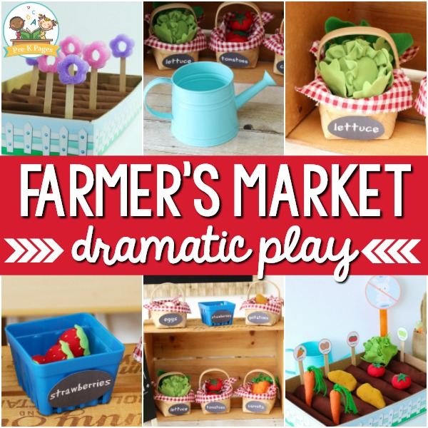 Farmers Market Dramatic Play Center