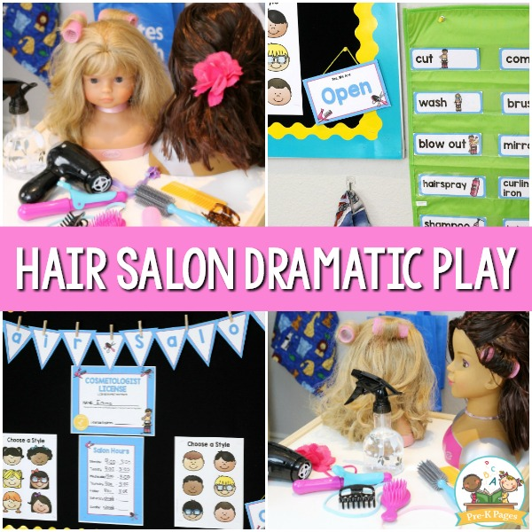 Hair Salon Dramatic Play Center