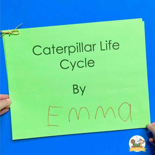 caterpillar butterfly book activity