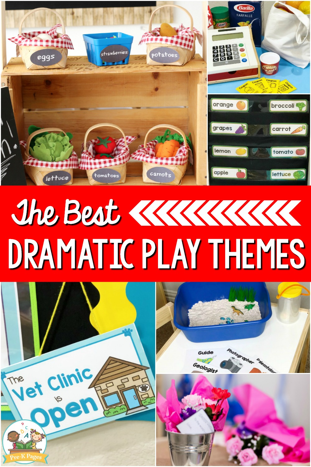 The Best Dramatic Play Themes