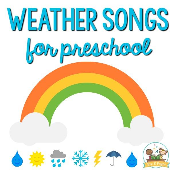 Weather Songs for Preschoolers