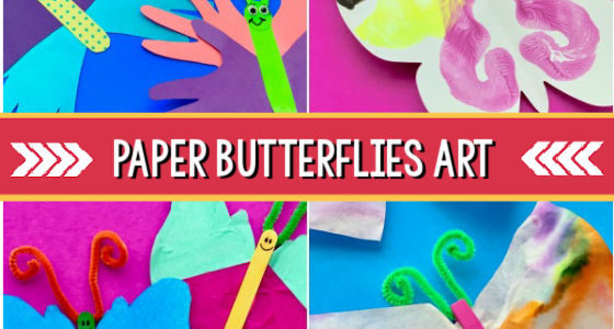 Easy Paper Butterfly Art Projects for Preschoolers
