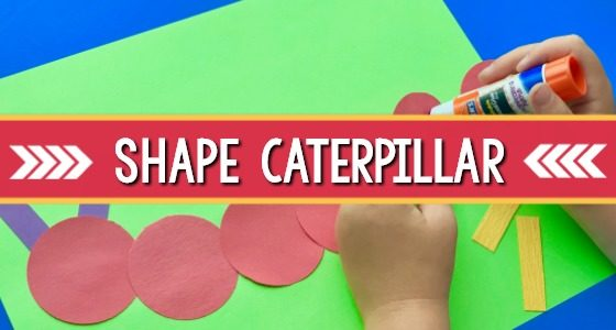 shape caterpillar for preschool
