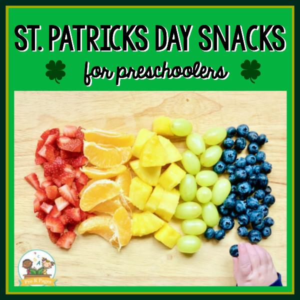 snacks for st Patrick's day