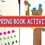 spring book activity preschool